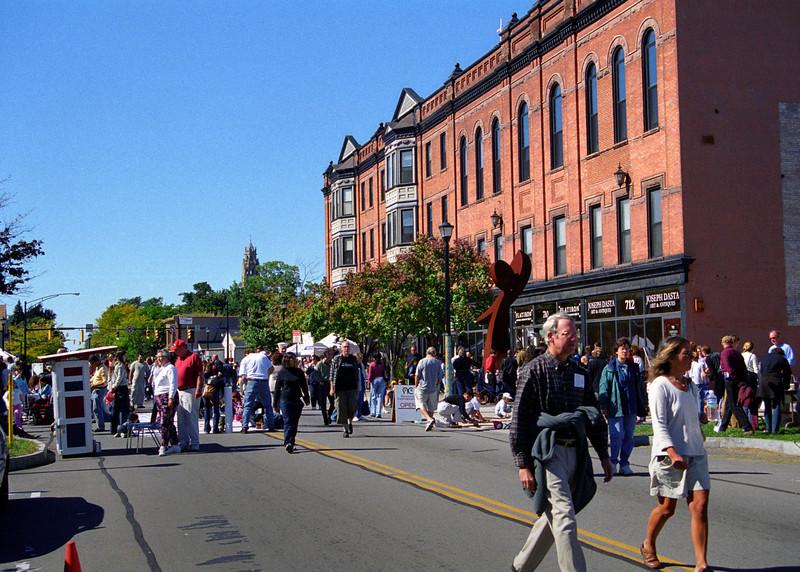 ArtWalk Alive! festival -----Please Photo Credit: Communications Bureau, City of Rochester