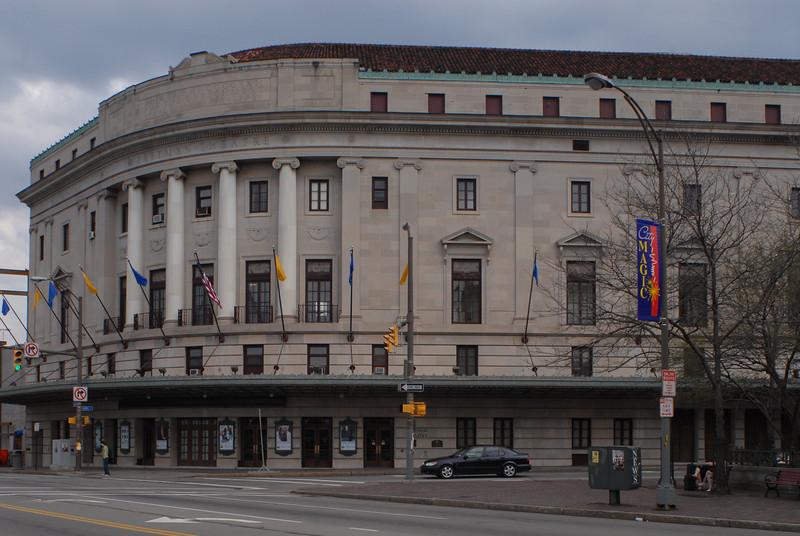 Eastman Theatre -----Please Photo Credit: Communications Bureau, City of Rochester