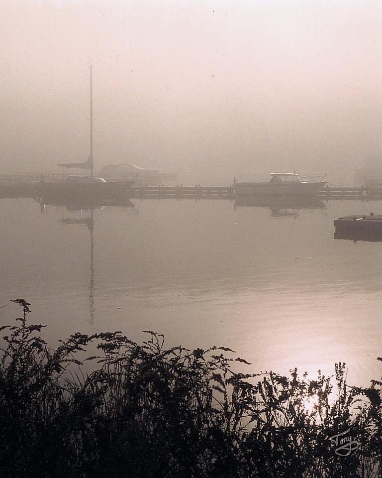 Amesbury, MA - 2005 Foggy River
