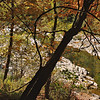 Quechee Gorge, VT - 2008<br /> Quiet Pool amid the Rapids