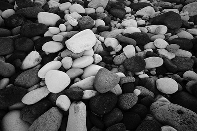 Shoreline rocks in Hellnar, Iceland.