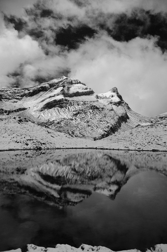 A small peak near Grindewald, Switzerland.