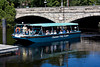 <center>Blackstone Valley Explorer  <br><br> The tour boat is returning to the dock to drop off the 1:00 tour.  We're up next. <br><br>Blackstone River Boat Tour - 11 September 2011<br>SNE Spur of the Moment Meetup Group</center>
