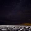 Night Sky Over Bonneville Salt Flats