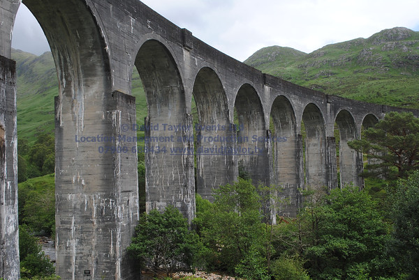 Glenfinnan viaduct (track under bridge 13E) - 5