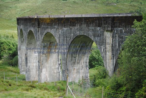 Glenfinnan viaduct (track under bridge 13E) - 1