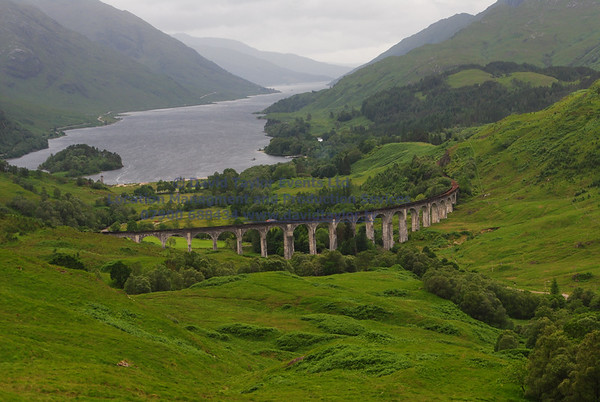 Glenfinnan viaduct (Forrest road 14SW) - 23