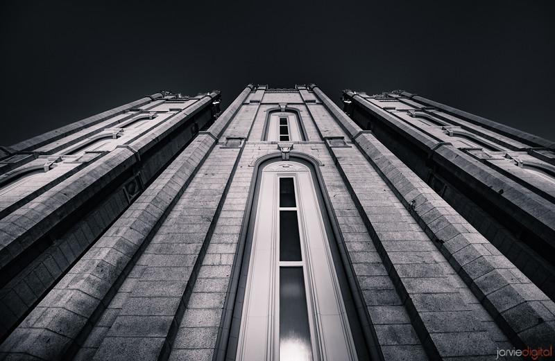 Salt Lake Temple Looking Up