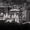 SLC Temple Skyline