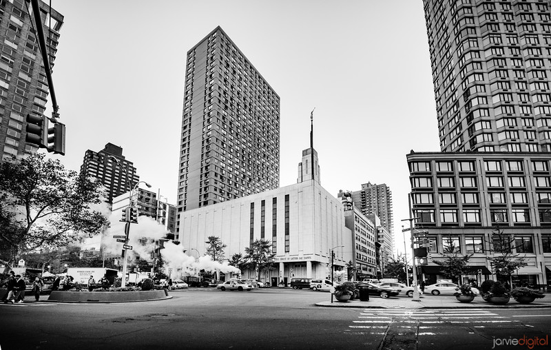 NYC Temple - Manahattan morning