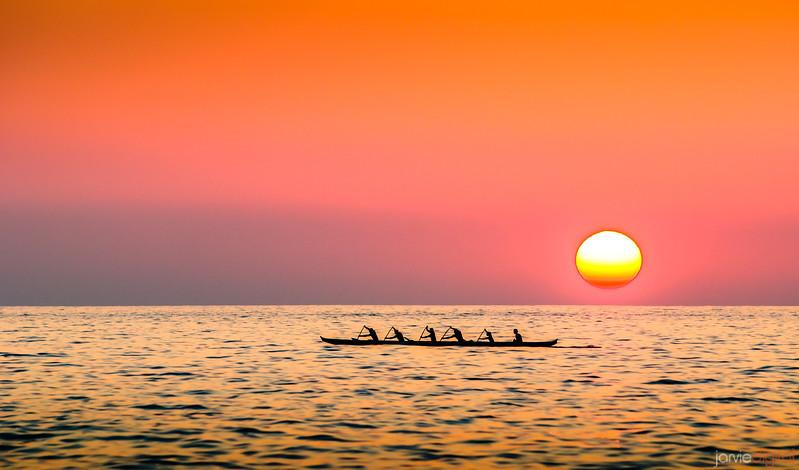 A Sunset Race