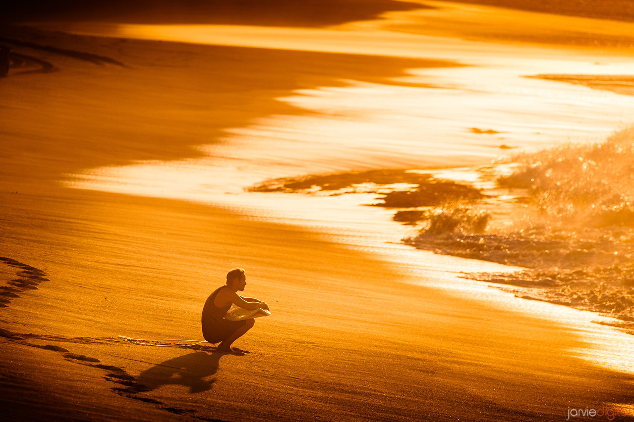 A Surfer at Peace