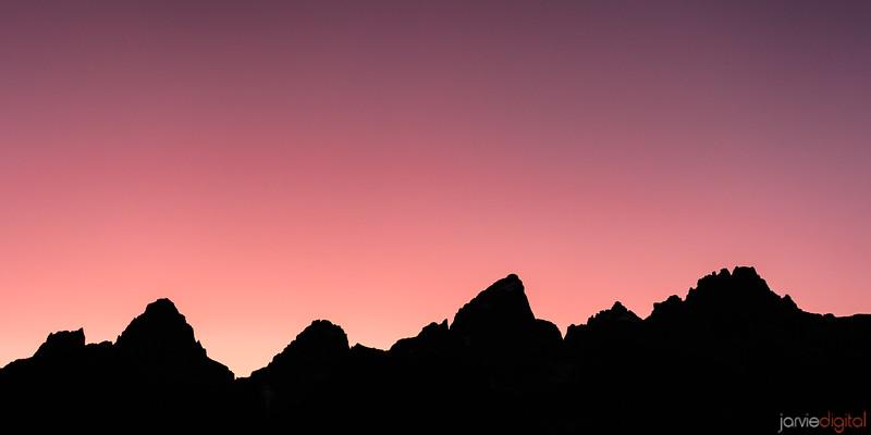 Teton Silohuette