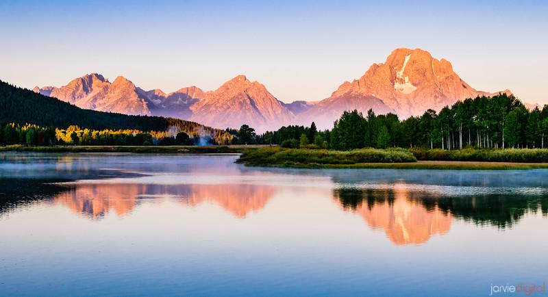 Teton Reflection - Horizontal