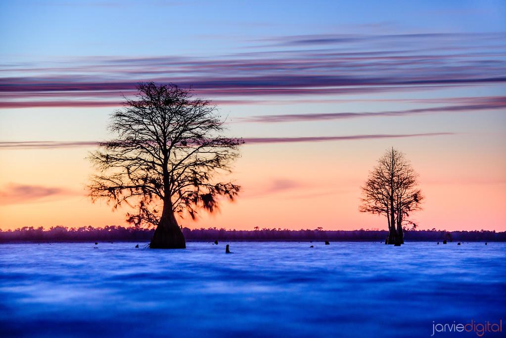 South Carolina Sunset on a Lake