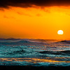 Sunset on the Waves