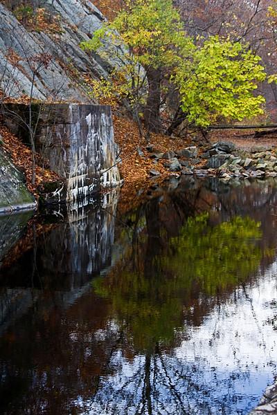 <center>Reflections  <br><br>Blackstone Valley Bike Path<br>Cumberland, Rhode Island</center>