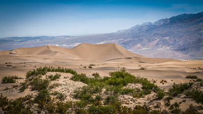 Dunes at Death Valley