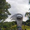 Falkirk wheel (Path to car park 15S) - 4