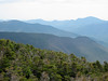 <center>Franconia Loop Hike -- 22 May 2010<br>New England Hiking Group<br><br><b><u>Owl's Head  </u></b><br><br>The bane of most peak baggers sits in the foreground.  </center>