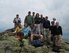 <center>Franconia Loop Hike -- 22 May 2010<br>New England Hiking Group<br><br><b><u>Group Photo  </u></b><br><br>The New England Hiking Group gathered for a photo on the summit of Little Haystack  </center>