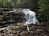 <center>Franconia Loop Hike -- 22 May 2010<br>New England Hiking Group<br><br><b><u>Waterfall  </u></b><br><br>One of the only waterfalls on the trail, this beautiful veil reveals a fair amount of water coming off the higher peaks.  </center>