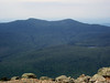 <center>Franconia Loop Hike -- 22 May 2010<br>New England Hiking Group<br><br><b><u>The Kinsmans  </u></b><br><br>North and South Kinsman (right to left) dominate the view to the west.  </center>