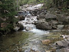 <center>Franconia Loop Hike -- 22 May 2010<br>New England Hiking Group<br><br><b><u>Lower Cascades </u></b><br><br>There was a fair amount of water in the cascades, although not enough to cause any difficulty with the stream crossings.  </center>