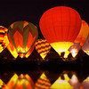 Balloon Glow at Lake