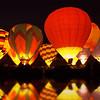 Balloon Glow at Lake
