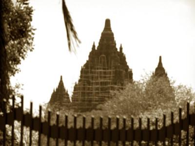 Hindu Temple - Yokarta Indonesia-Hazy day 2004 Available for purchase