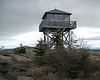 <center>Kearsarge North Hike -- 15 May 2010<br>AMC Boston Chapter<br><br><b><u>Fire Tower  </u></b><br><br>This well maintained fire tower sits at the summit of Kearsarge North.  </center>