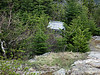 <center>Kearsarge North Hike -- 15 May 2010<br>AMC Boston Chapter<br><br><b><u>Outhouse  </u></b><br><br>A small outhouse sits just off the summit of Kearsarge North.  </center>