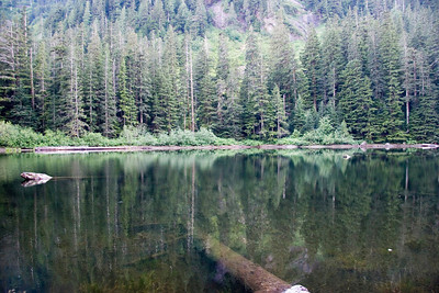 Barclay Lake and Mt. Baring