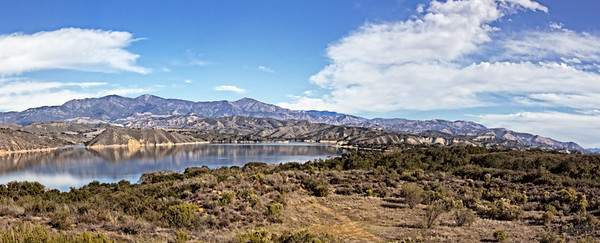 Lake Cachuma Pano