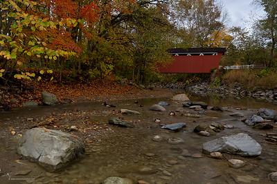 Everett Road Covered Bridge Cuyahoga Valley National Park, Ohio