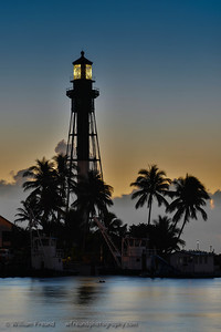 Sunrise, Hillsboro Inlet Lighthouse, Hillsboro, Florida