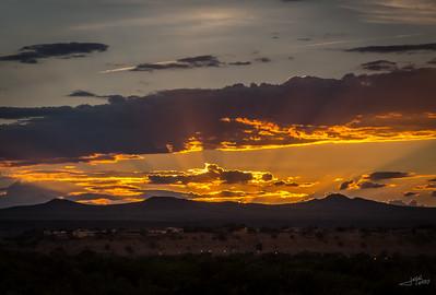 Sunset in Albuquerque