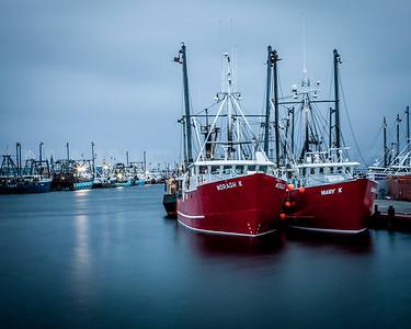 The New Bedford Fishing Fleet.  New Bedford, MA.  0723