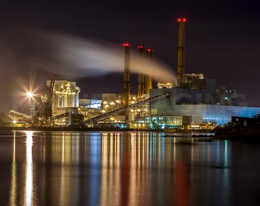 The Dominion Power Plant, Swansea, MA.  0706