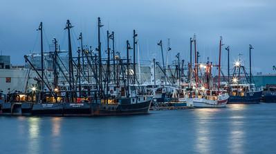 The New Bedford Fishing Fleet.  New Bedford, MA.  0717
