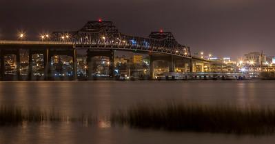 The Charles M Braga Bridge.  Fall River, Mass.  0704