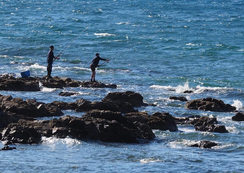 Fishing at Makara