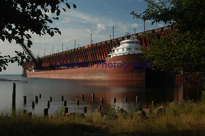Marquette's Upper Harbor.  LS&I ore dock