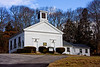 <center>North South Trail - Section One - 19 March 2011<br>AMC - Narragansett Chapter<br><br>Charlestown Baptist Church  <br><br>This simple church was built in 1840.  </center>