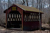 <center>North South Trail - Section One - 19 March 2011<br>AMC - Narragansett Chapter<br><br>Vin Gormley Trail  <br><br>This picturesque covered bridge kept our boots dry as we crossed the Perry Healy Brook.  </center>