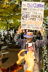 Occupy Wall Street protesters. New York, 2011