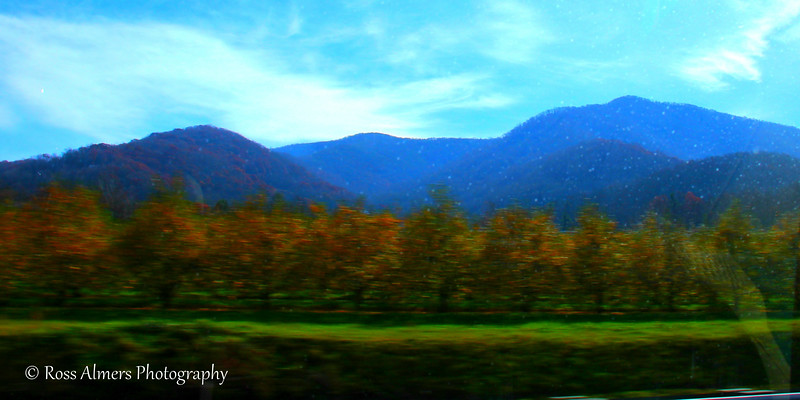 Blue Ridge Mountains Drive-By