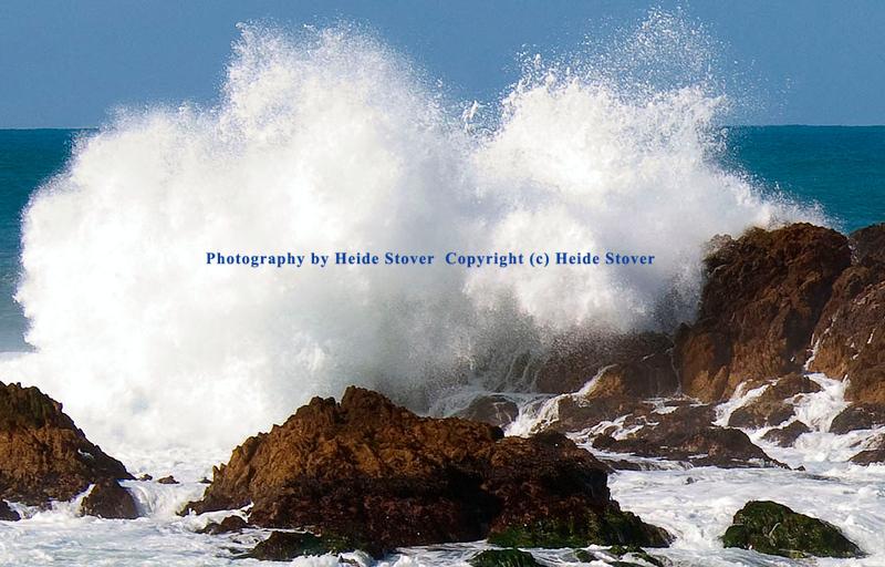 Crashing Waves.  17 Mile Drive, Carmel, CA