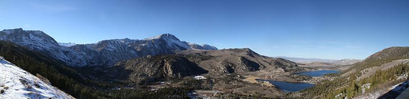 June Mountain View